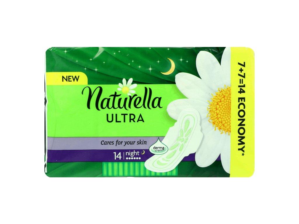 Naturella Ultra Night hygienické vložky 14ks
