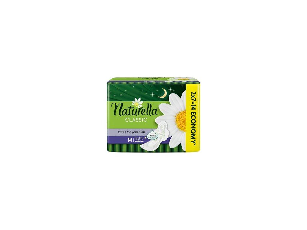 Naturella Classic Night hygienické vložky 14ks