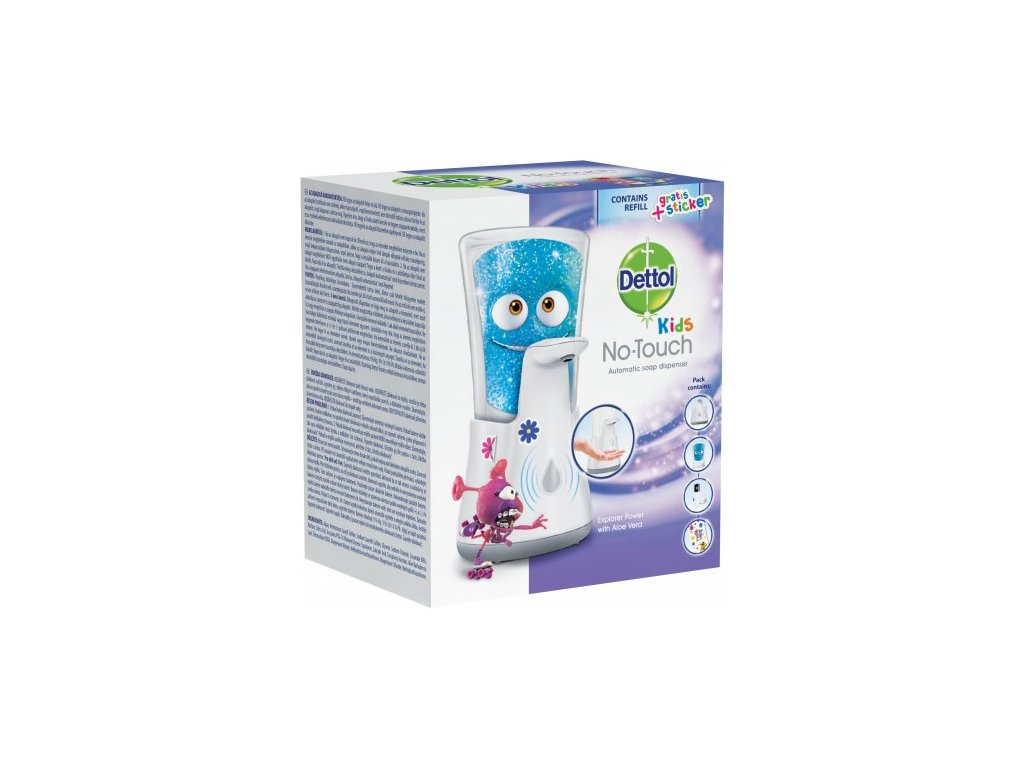 Dettol No Touch Kids Dobrodruh bezdotykový dávkovač + náplň 250ml