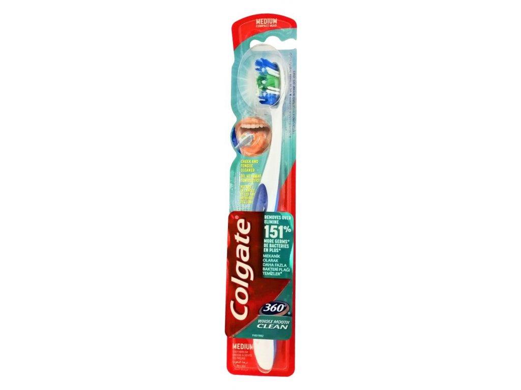 Colgate zubná kefka Colgate 360 ° Clean medium