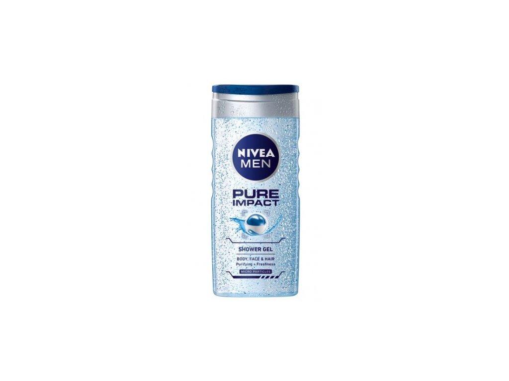 Nivea Men Pure Impact sprchový gél 500ml