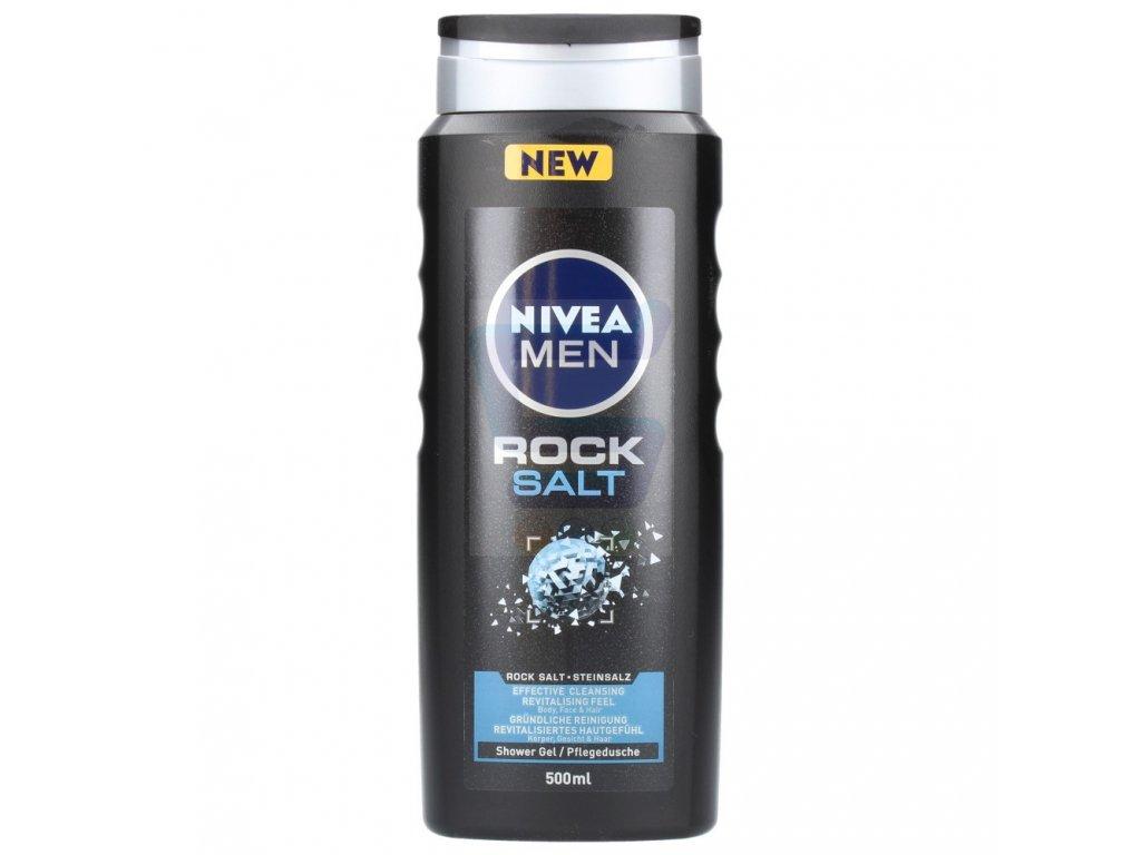 Nivea Men Rock Salts sprchový gél 500ml