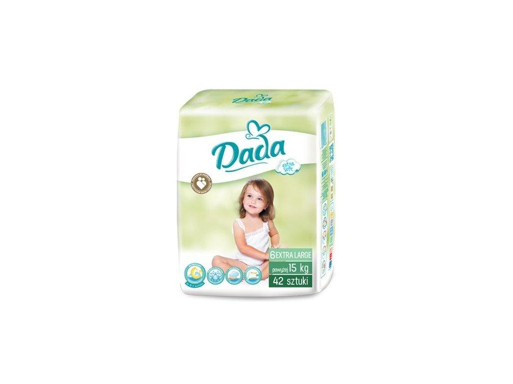 Dada Extra Soft Junior 6 Eko plienky 42ks nad 15kg