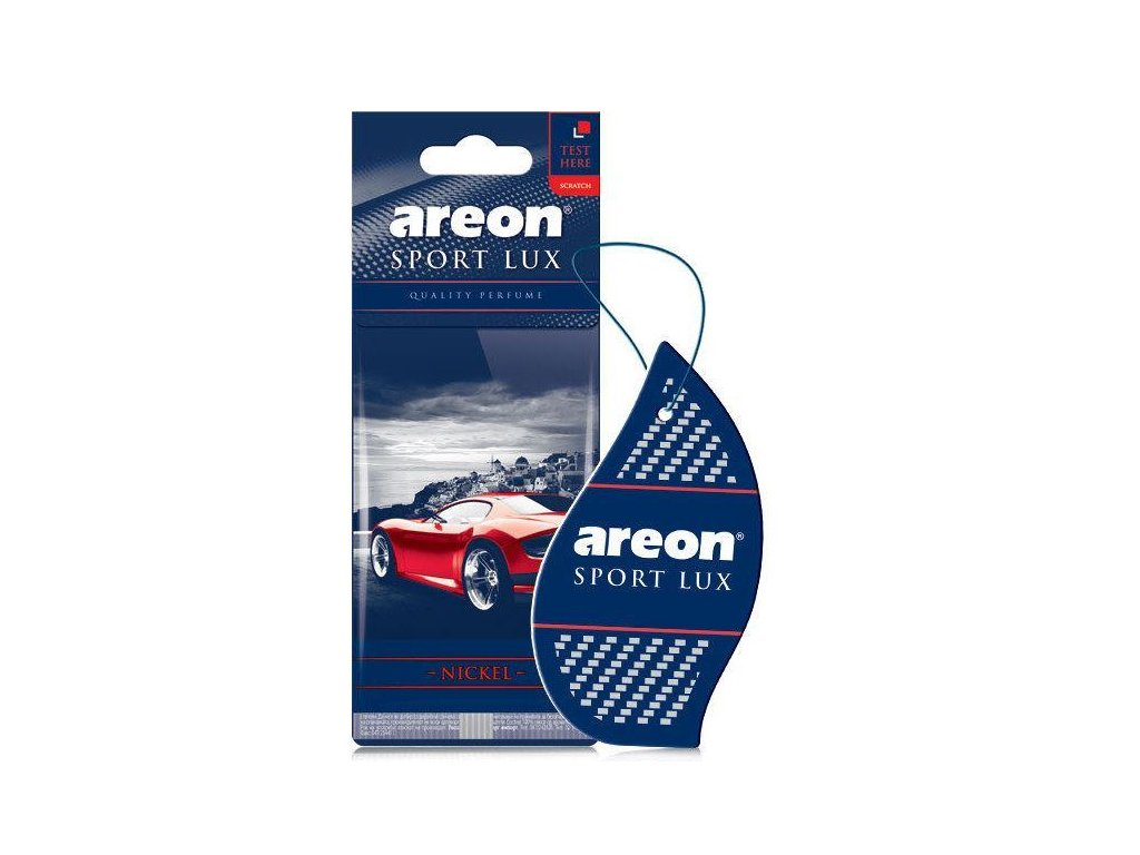 Areon Sport Lux Nickel osviežovač do auta