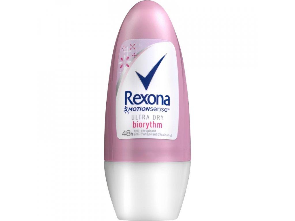 Rexona roll on Biorythm dry&fresh 50ml