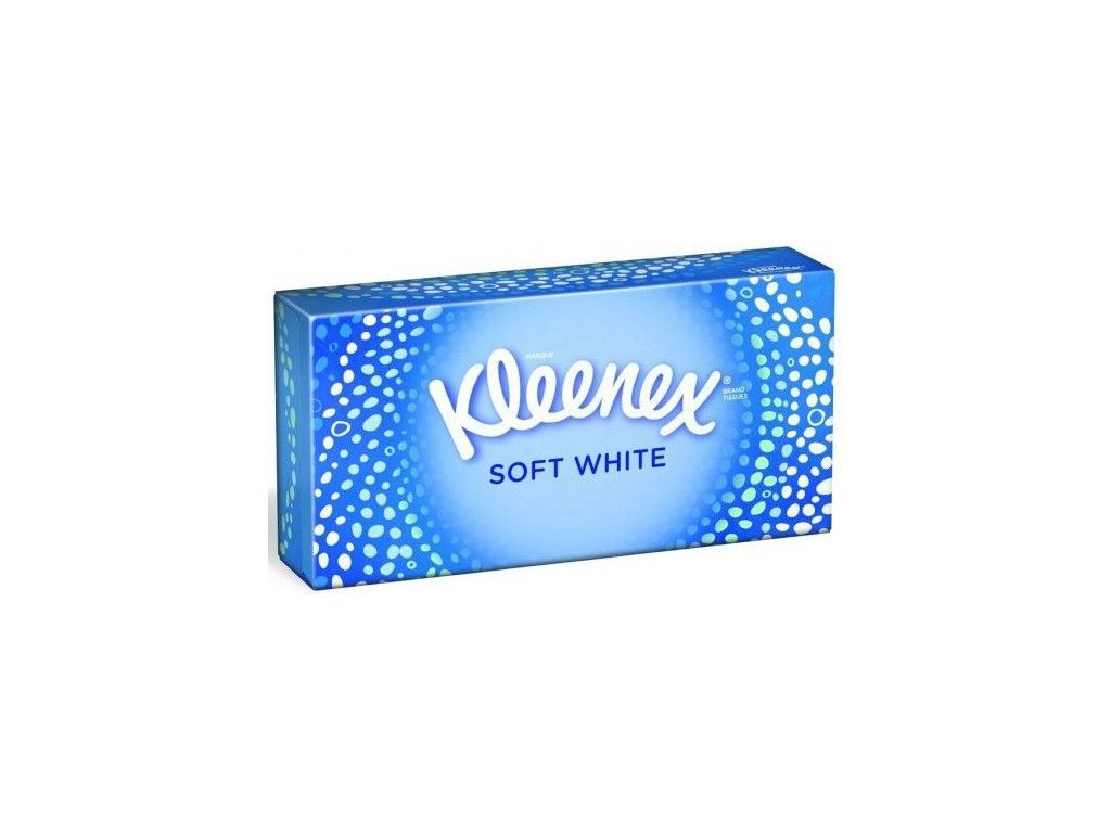 Kleenex Soft White papierové utierky 70ks