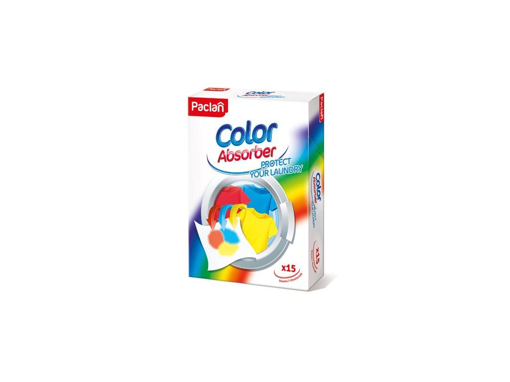 Paclan Color Absorber utierky na udržovanie farby prádla 15ks