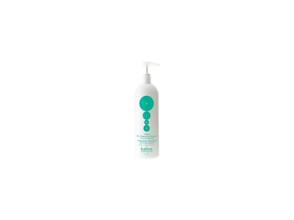 Kallos KJMN DEEP shampoo šampón na mastné vlasy 500 ml