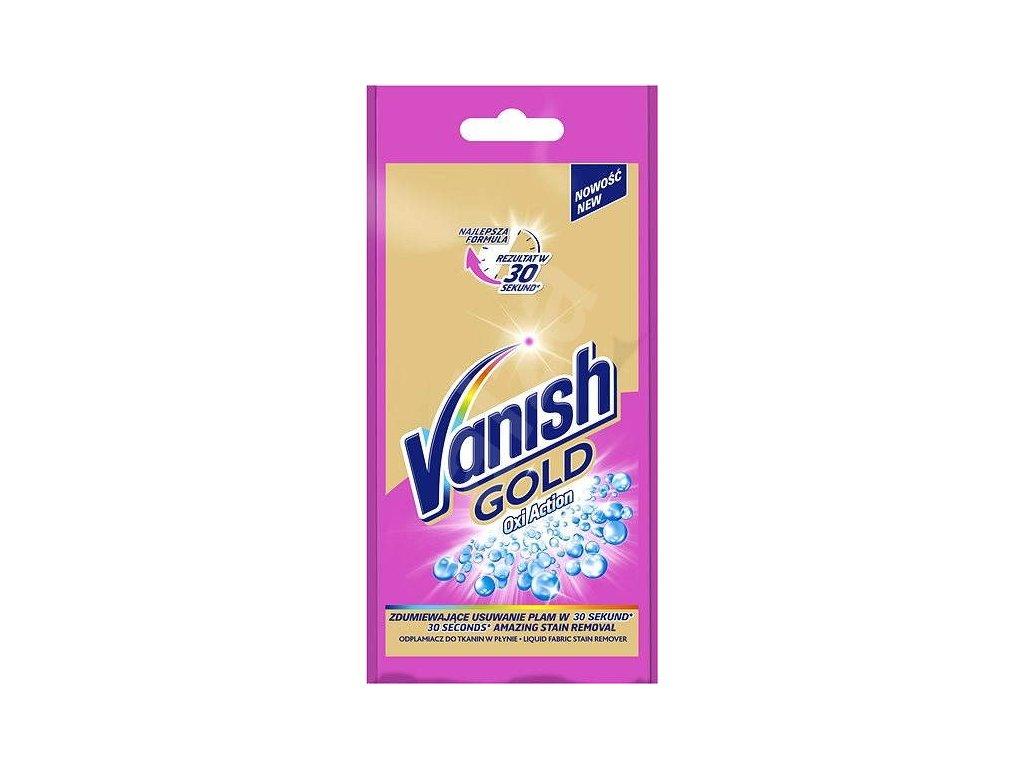 Vanish Gold Oxi Action Pink tekutý odstraňovač škvŕn 100ml