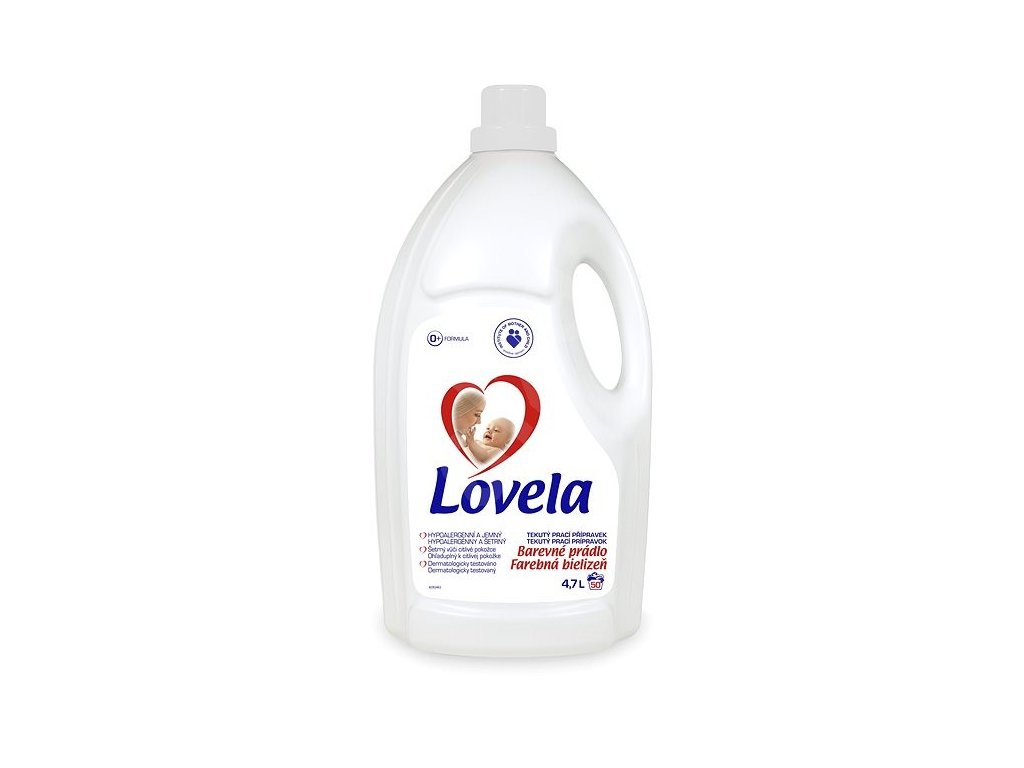 Lovela Color gél na pranie 4,7l 50PD
