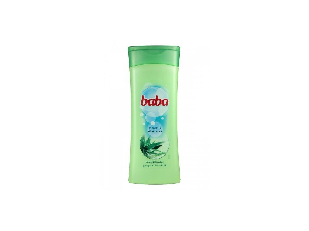 Baba Aloe Vera telové mlieko 400ml
