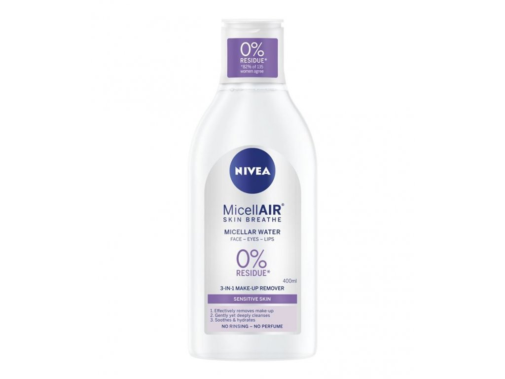Nivea MicellAIR Sensitive Skin Breathe micelárna voda 400ml