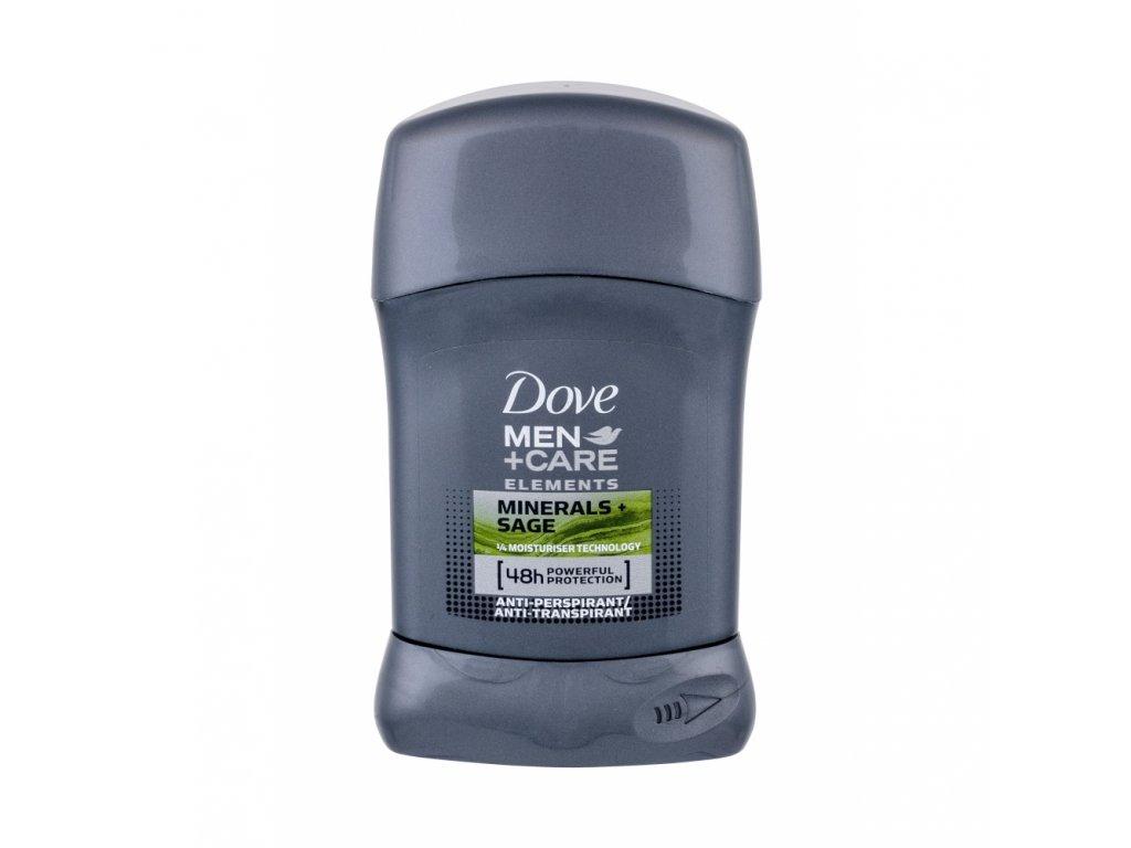 Dove Men+ Care Minerals + Sage antiperspirant deostick 50 ml..