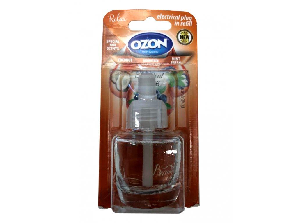 Ozon Coconut & Fresh náplň do elektrického osviežovača 19ml