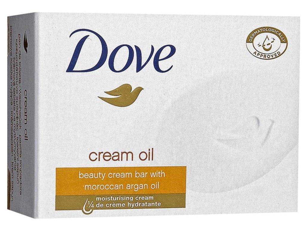 Dove Cream Oil tuhé mydlo 100g