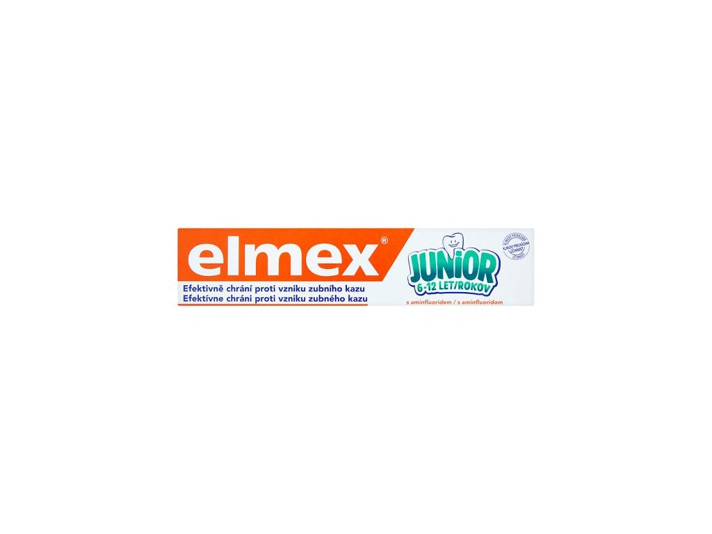 Elmex zubná pasta Junior 6 12 75ml