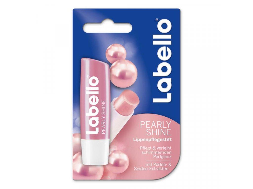 Labello Pearly Shine balzam na pery 4,8g