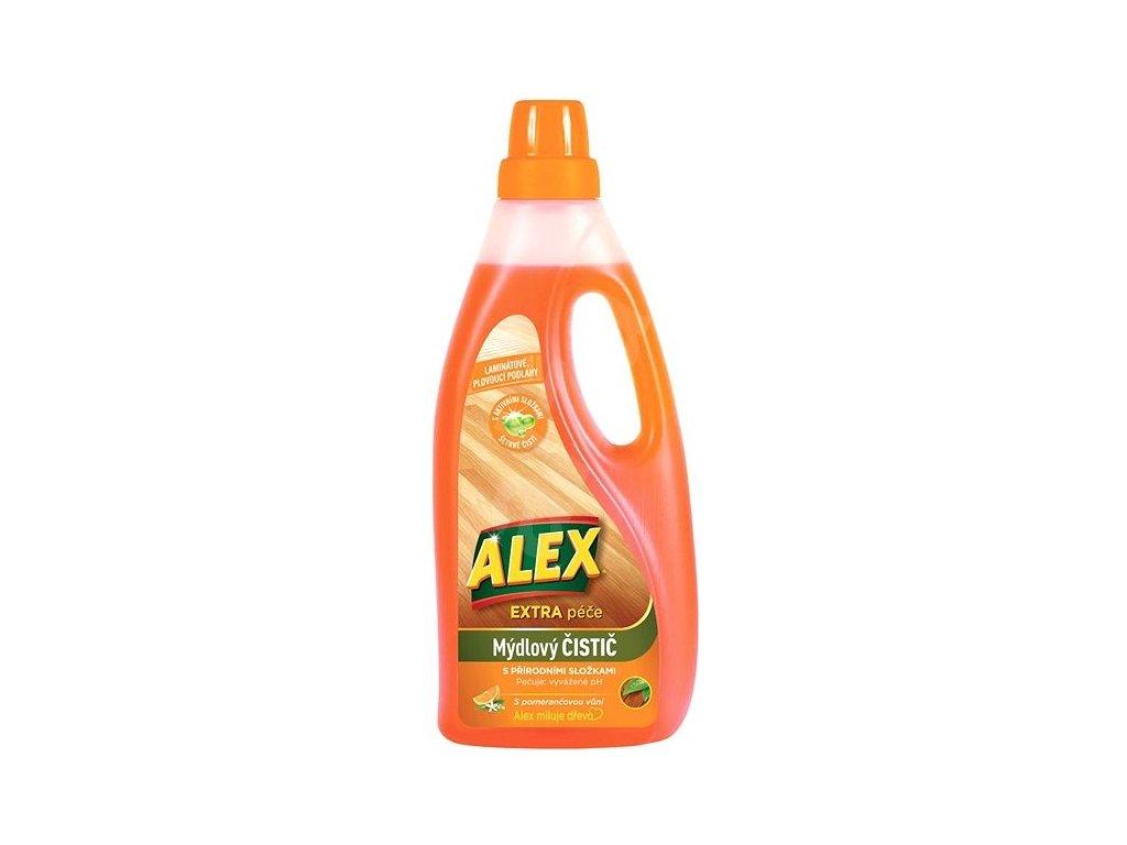 Alex mydlový čistič na laminát 750ml
