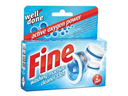 Well Done Fine tablety na čistenie práčky 80g