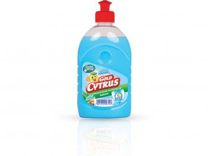 GOLD CYTRUS balzam prostriedok na umývanie riadu s glycerínom 500ml