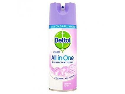 Dettol All in One antibakteriálny viacúčelový sprej 400ml JASMINE