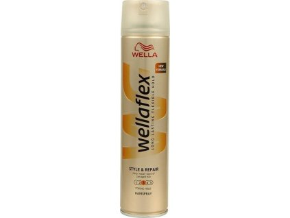 Wellaflex Style & Repair 3 lak na vlasy 75ml