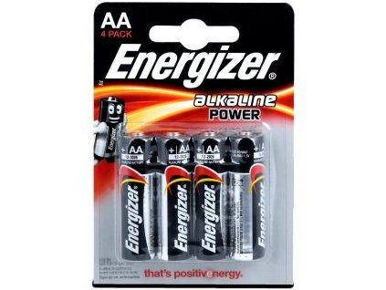 Energizer Alkaline Power AA 4 pack