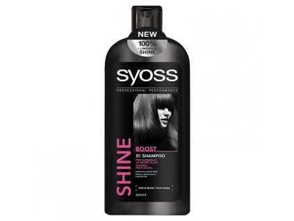 Syoss Shine Boost šampón 500ml