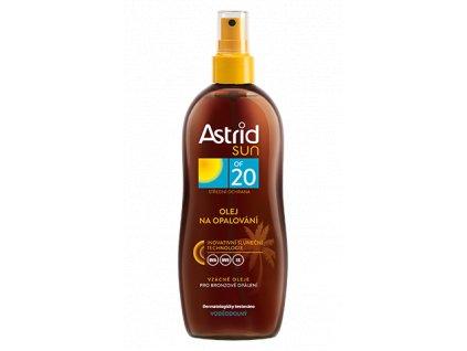 ASTRID SUN Olej na opaľovanie 200ml OF20