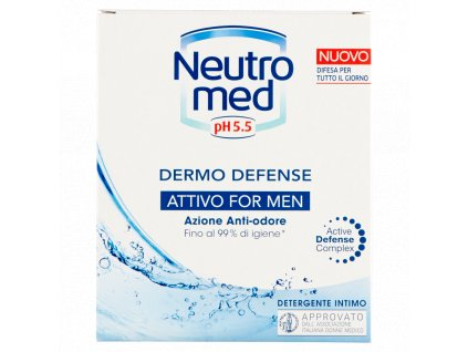 Neutromed Men pH 5.5 emluzia pre intímnu hygienu 200ml