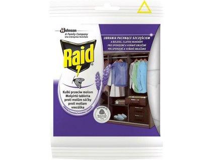 Produkt RAID Vrecúška proti moliam Levanduľa 18 ks