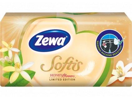 Zewa Deluxe papierové hygienické vreckovky 10 x 9 ks