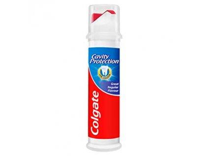 Colgate cavity protection zubná pasta s pumpičkou 100ml