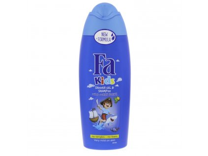 Fa Kids sprchový gél a šampón Wild Ocean Scent 250 ml
