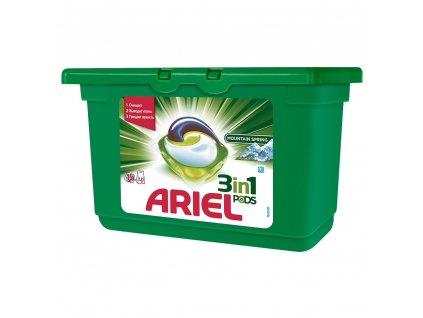 Ariel 3in1 Mountain spring gélové kapsule 15ks