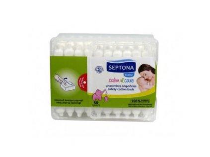 Septona baby detské vatové tyčinky, 50ks