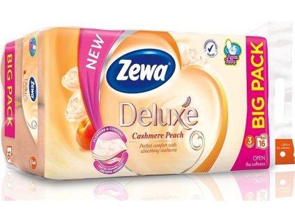 Zewa Deluxe Aquatube Cashmere Peach toaletný papier 16ks