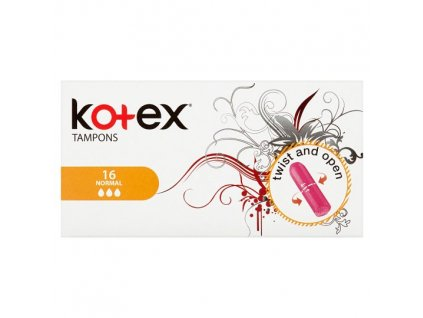 Kotex Normal tampóny 16ks