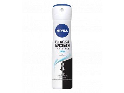 Nivea Invisible Black & White Fresh antiperspirant 150ml