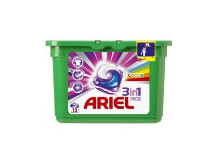 Ariel All in1 Color gélové kapsule 15ks