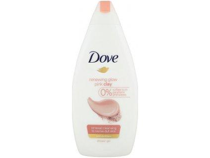 Dove Pink Clay sprchový gél 250ml