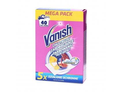 Vanish Color Protect obrúsky do práčky 20ks 40 praní