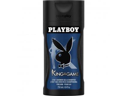 Playboy 2n1 King of The Game sprchový gél 250ml