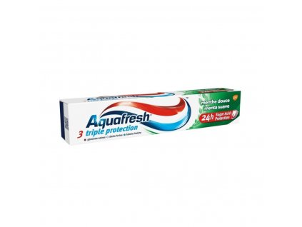 Aquafresh Triple Protection Sweet Menthol zubná pasta 75ml
