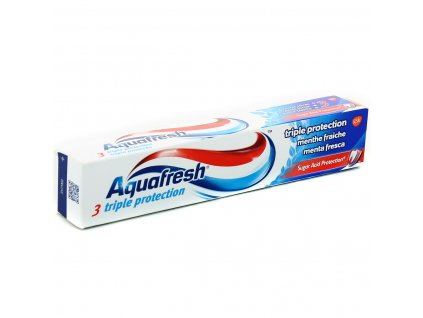 Aquafresh Triple Protection Fresh Menthol zubná pasta 75ml