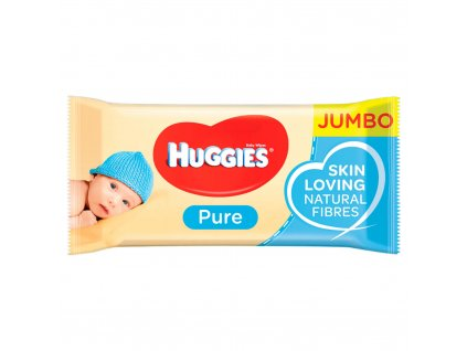 Huggies Pure Jumbo pack vlhčené utierky 72ks
