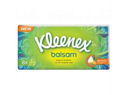 KLEENEX Balsam papierové vreckovky 8 kusov