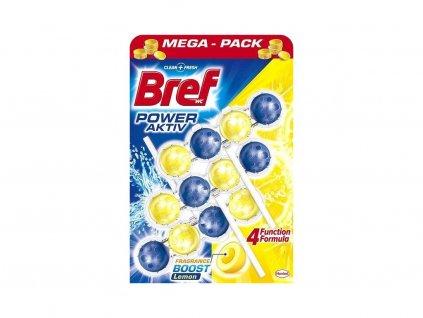 Bref Power Aktiv Lemon WC Blok 3x50g