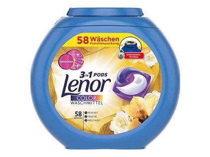 Lenor 3in1 Color pracie kapsule 58ks