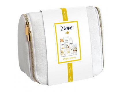 Dove Coconut deluxe darčekový set + kozm. taška